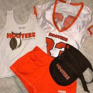 Hooters uniform & jersey.
